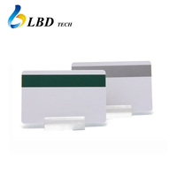 Blank / CMYK Printing Plastic Magnetic Strip Cards