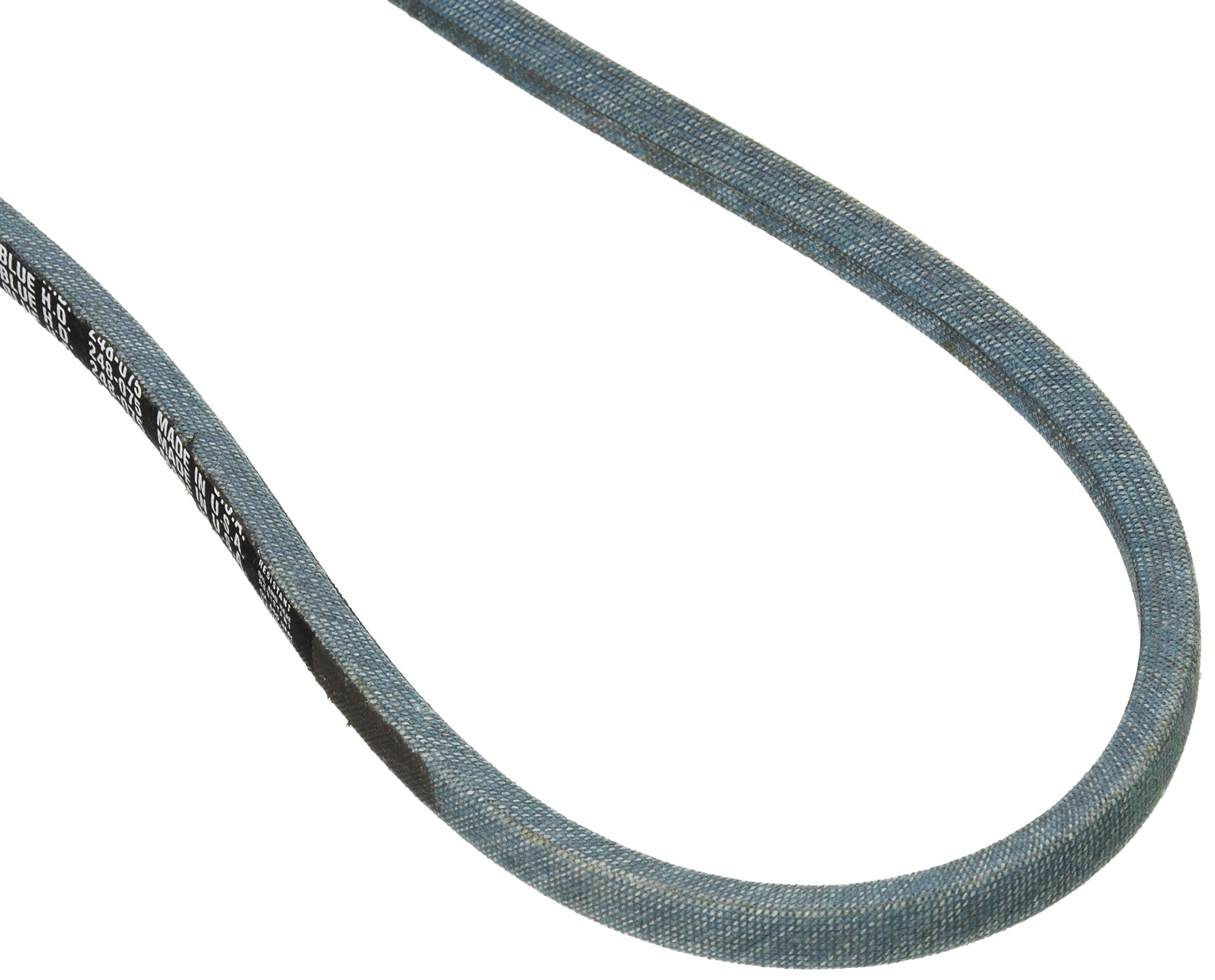 Stens 248-075 True-Blue Belt Replaces Gates 6875 Dayco L475 Goodyear 84750 Ariens 07210200 Troy Bilt 1724148 Massey Ferguson 1025557M1 Maxim 320272214 AYP 76275, 75-Inch by-1/2-inch