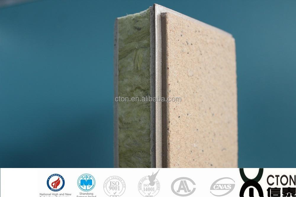 D coratif ext rieur panneaux d 39 isolation thermique for Laine de roche exterieur