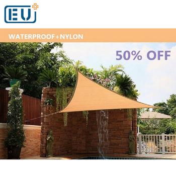 Professional Design Commercial Large Garden Carport Triangle Sun