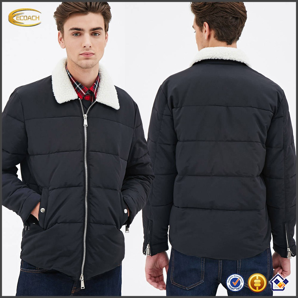 08673dcebe Faux Shearling Puffer Jacket Ecoach Clothing Manufacturer Custom Mens Snow  Jacket Wholesales - Buy Snow Jacket,Mens Military Jacket,Snow Jacket ...