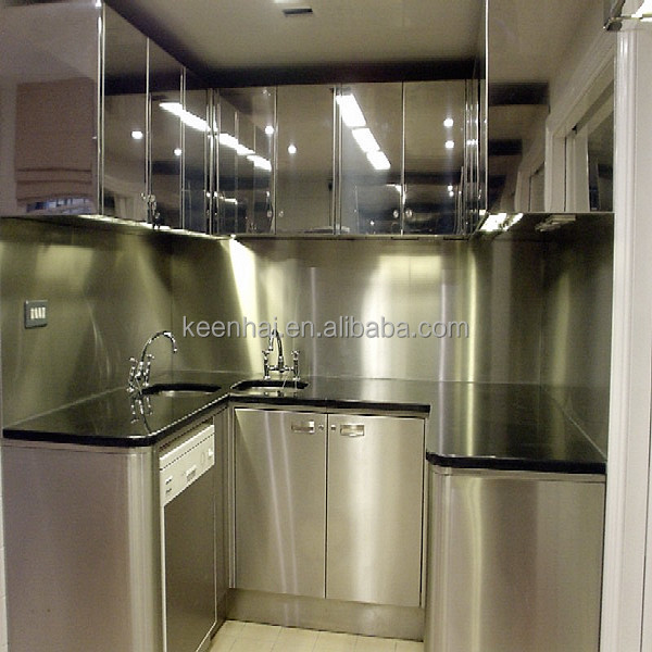 Stainless Steel Kitchen Cabinets Lucknow: Keenhai Custom Stainless Steel Laminate Commercial Kitchen
