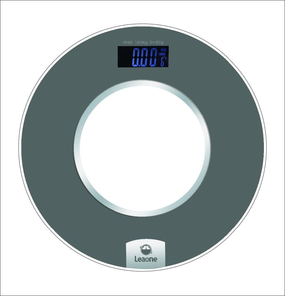 Низкая цена круглая форма цифровой взвешивания весы