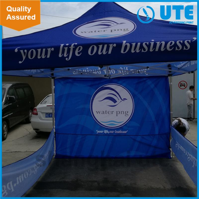 Fashional promotion strong aluminum portable and promotional outdoor gazebo tent pop up screen tent