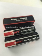 Newest ! Originrl awt 18650 50a 3000mah 3.7v battery for 800 puff disposable e cig v2 pro series 3 vaporizer