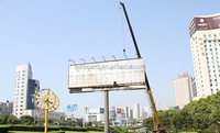 Highway One Side Lightingbox Scrolling Billboard Sign Structure ...