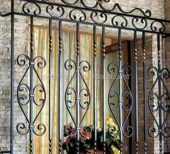 Wrought Iron Balcony Grill Designs