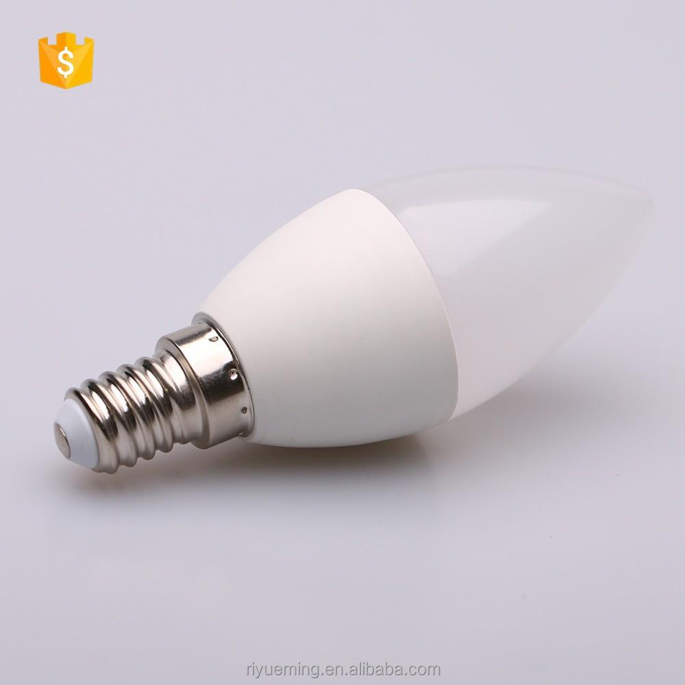 Dimming C37 5W constant current power supply candle LED light