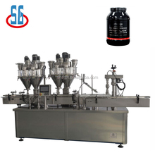 SG High Speed Pharmaceutical Vial Syrup Health Powder Filling Capping Machine