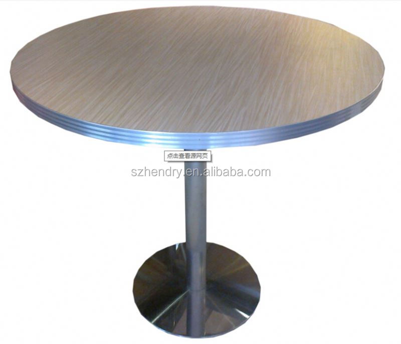 Captivating Stainless Steel Round Table Roundtables