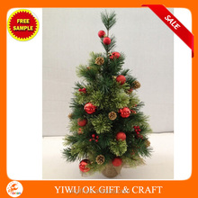 60cm 75tips Pine Christmas Tree With 42 pcs Decorations