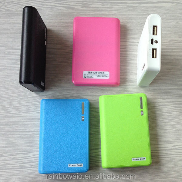 portable external battery charger 2 usb travel charger 8800mah power bank 10000mah for mobile phone PSP with KC certificate