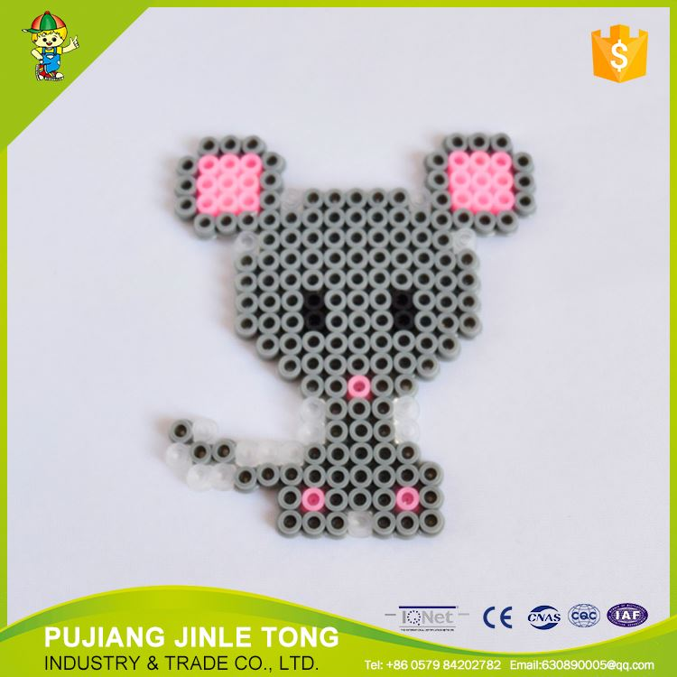 Factory direct sale low price loose diy perler toy for jewelry making for sale