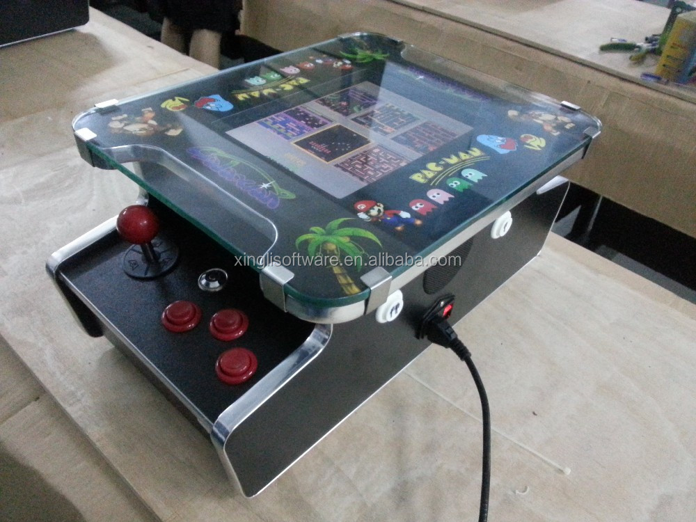10.4 inch LCD Mini bartop Cocktail Arcade Machine With 60 games