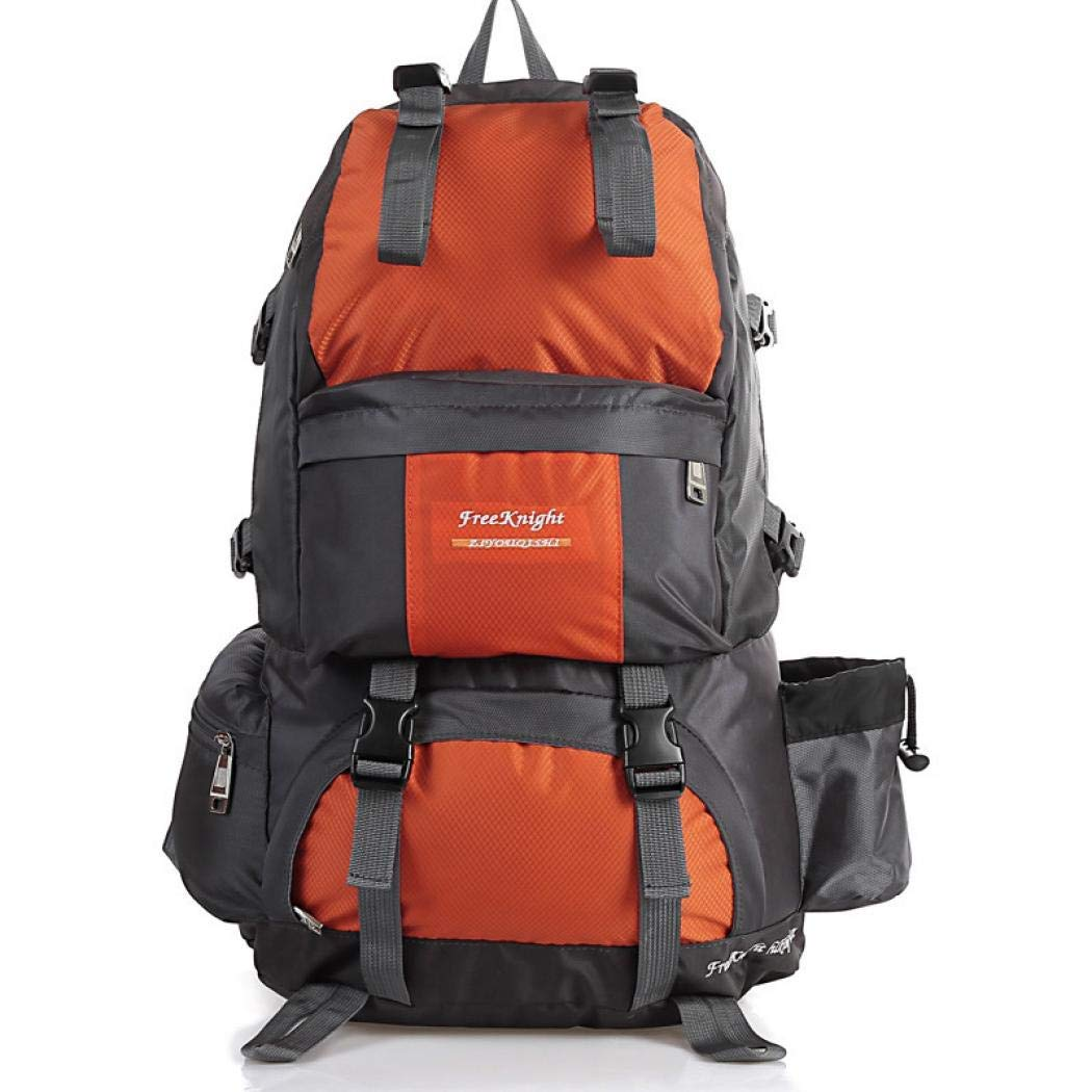 78e8276aecc8 Get Quotations · Stimmt Lightweight 50L Hiking Backpack Internal Frame Backpack  Waterproof Travel Daypack for Outdoor Hiking Travel Climbing