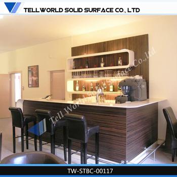 Home Furniture Bar , Acrylic Bar Counter For House