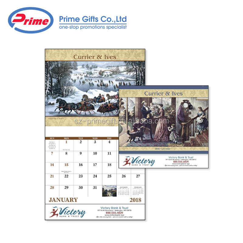 Custom Advent Desk Calendar 2020 with Logo Printing
