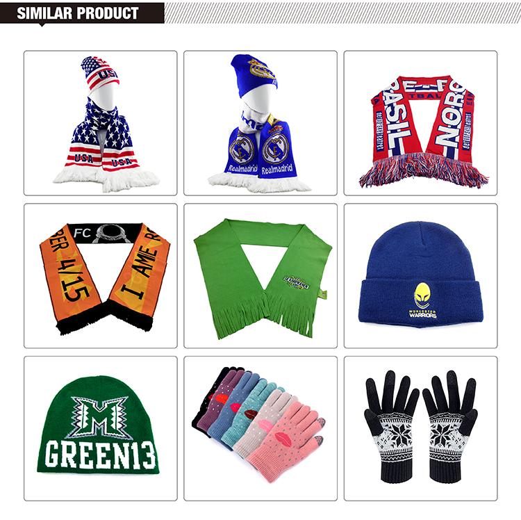 Fashion Jacquard Crochet Slouchy Winter Beanie Kid Knitted Hat