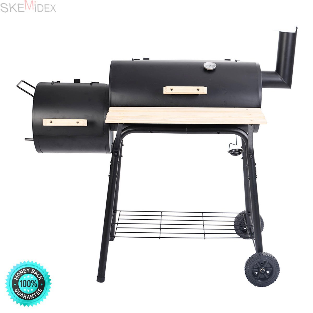 SKEMIDEX--- Outdoor BBQ Grill Charcoal Barbecue Pit Patio Backyard Meat Cooker Smoker And best choice products bbq grill charcoal barbecue patio backyard home meat smoker