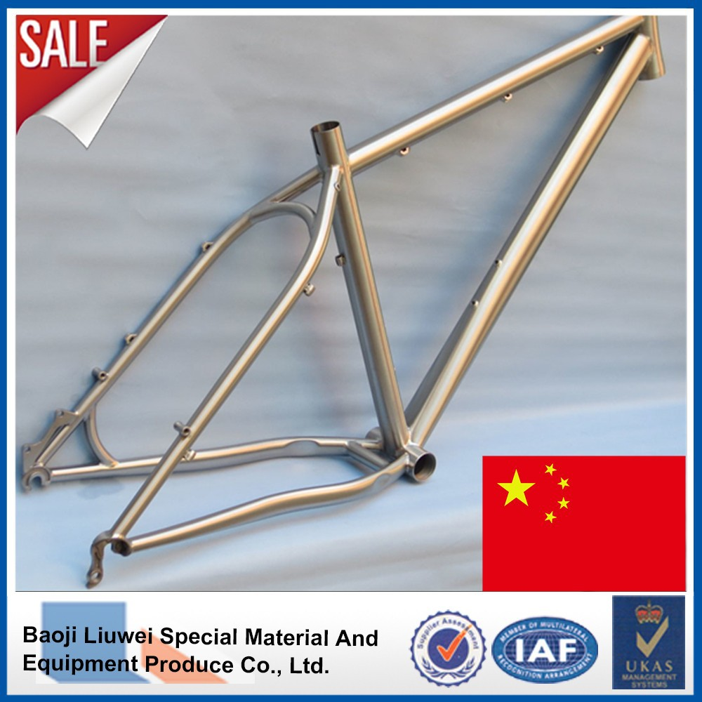 Cuadro de bicicleta MTB de titanio-Bastidor de bicicleta ...