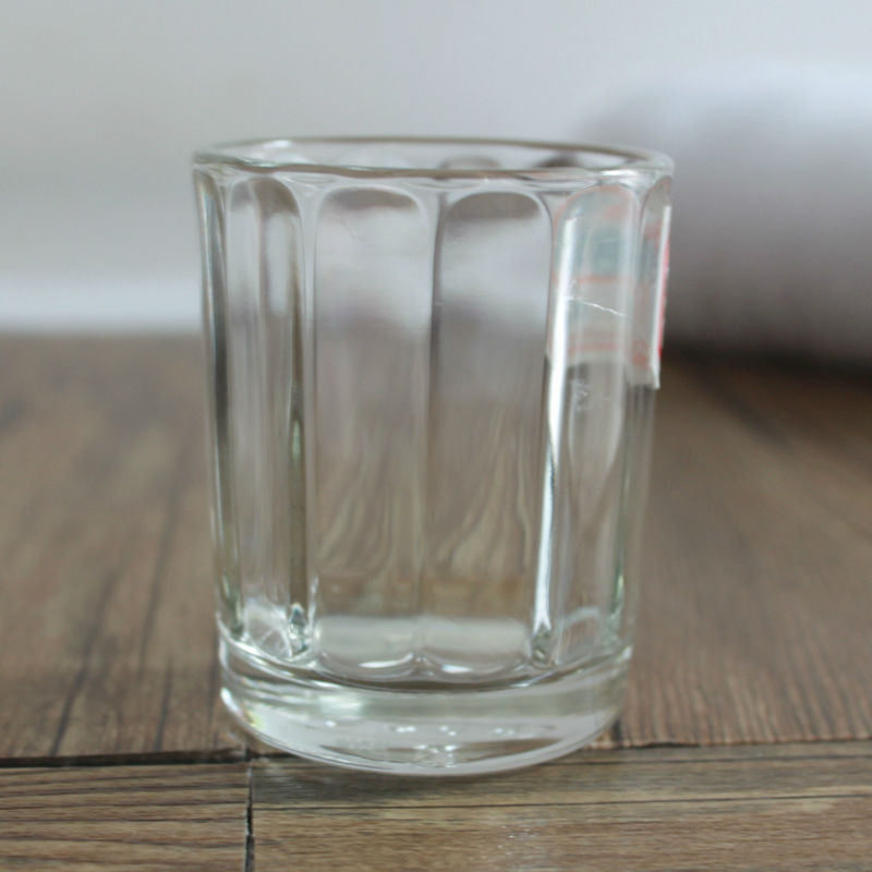 Machine Made Solid Transparent round Bottom Tea Cup Water Glass Cup
