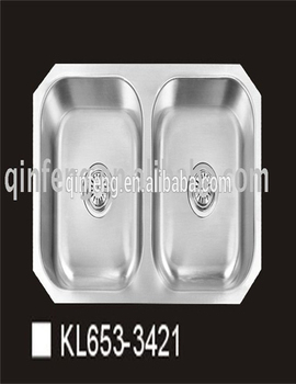 Stainless Steel Kitchen Sink,double Bowl ,stainless Steel Double Bowl Round  Kitchen Sink
