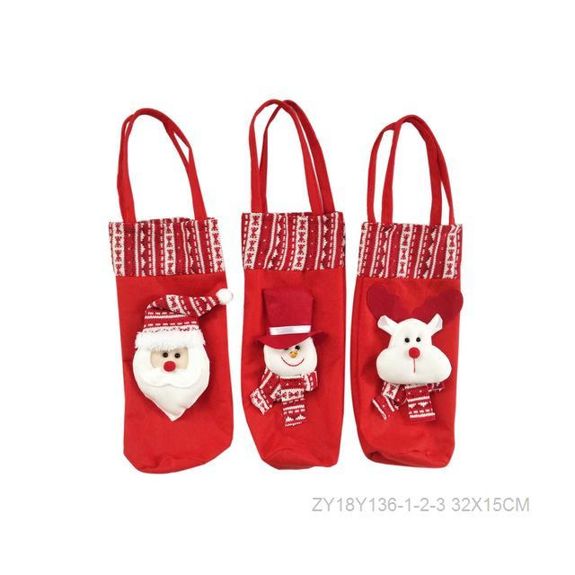 christmas hanging file tote bag