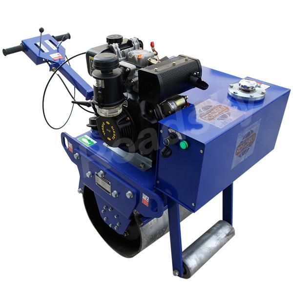 Construção de estradas usado rolo de estrada para venda impulso da mão mini máquina de rolo duplo Rolo de Estrada