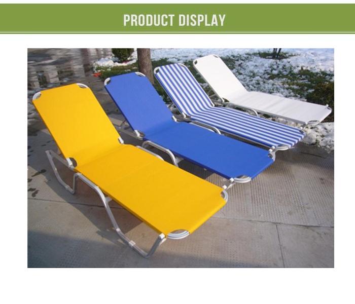 Hot Sales Metal Folding Beach Sun Lounger Chair,portable Cheap Pool Beach  Folding Beach Lounger