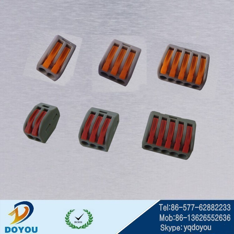 China Made Wago 222 Series Push-in Wire Connector 222-412 22-413 ...