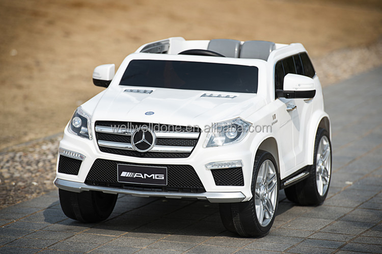 new licensed mercedes benz gl63 toys cars electricbaby remote control kids car toy