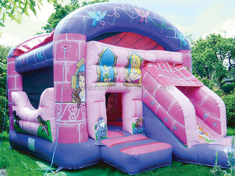 nice princess bouncy castle for children fun house
