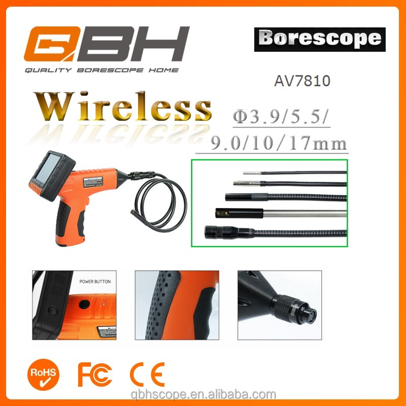 Welded Pipeline Fatigue Wear Inspection Camera