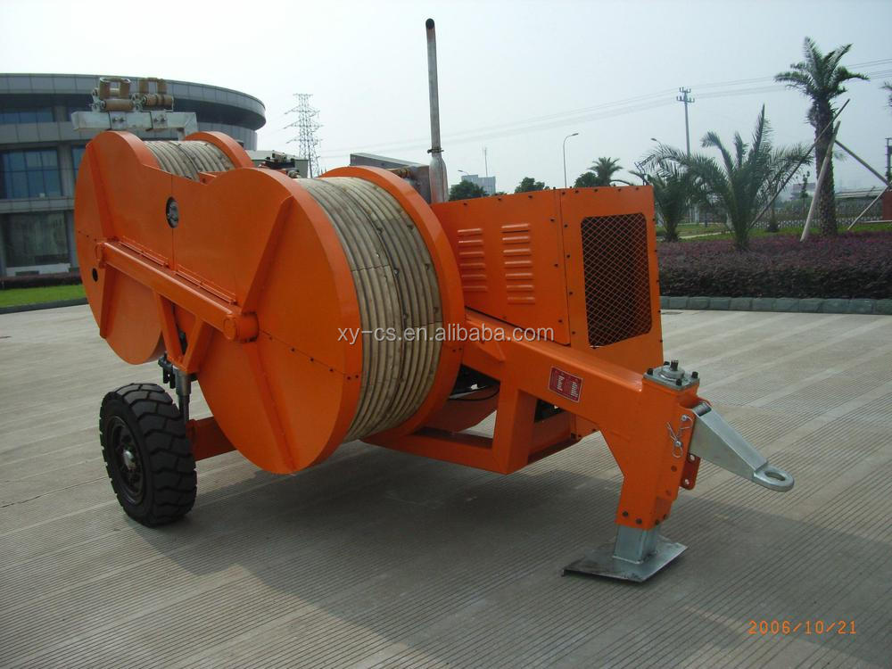 Hydraulic Cable Pulling Machine : Ton hydraulic wire tension device buy