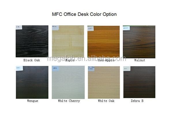 Latest High End Furniture Laminate Office Table For Boss/president(FOH BS24