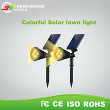 Top Selling Waterproof CE Led Outdoor garden lamp LED solar lawn light