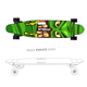 Custom Grip Tape 8 Layers Canada Maple Electric Longboard with Wireless remote control