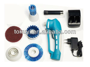 Power Household Cleaning Tool and Brushes Electric cordless scrubber(Skype ID: lovelysammi1314)
