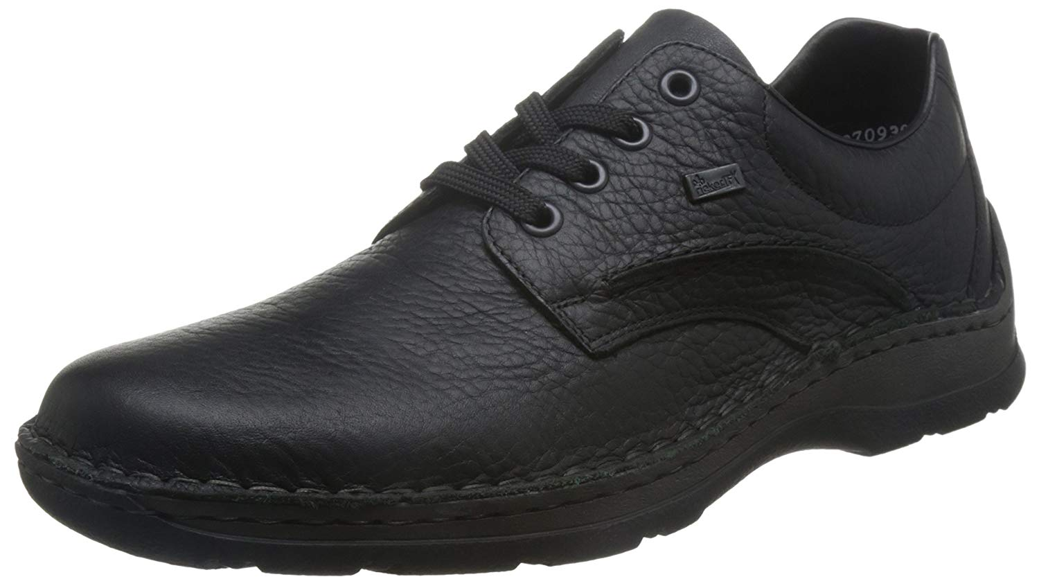 a5287185c6eee Get Quotations · Rieker Mens M.Low Shoes Black Extra Wide