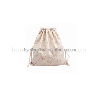 Promotional Canvas Cotton Drawstring Bag With Different Shape ...