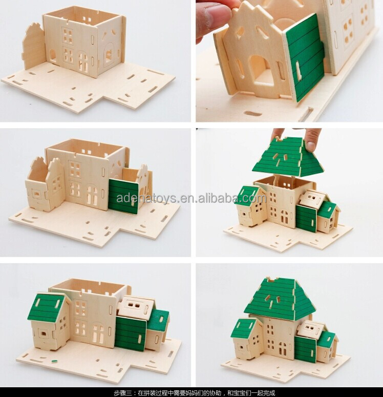 wooden crafts manufacturer    educational toy    3d diy toys    kids learning aids