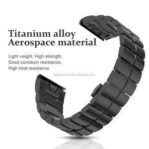 26mm Width Strap for Garmin Fenix 5X/3/3HR Band Titanium Alloy Watchband Sport Wristbands with Quick Fit function