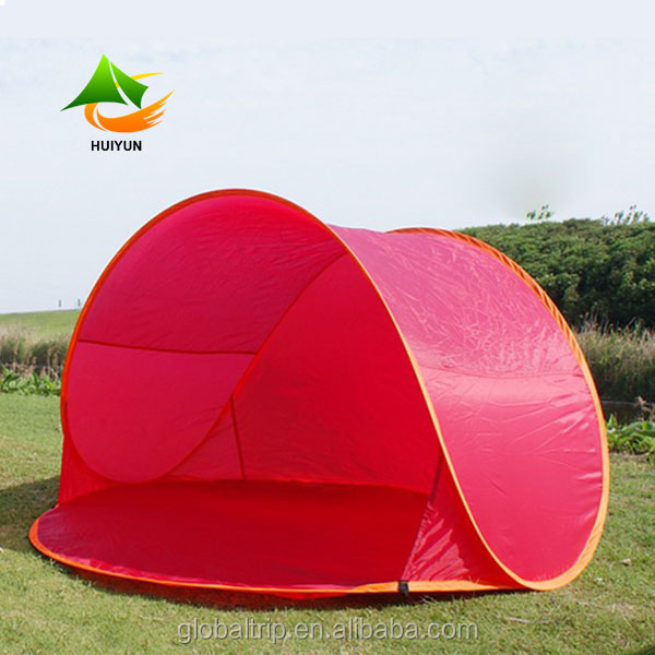 Instant Half Tent 2 Person Pop Up Tent UV Protection Sun Shelter