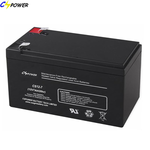 VRLA rechargeable battery 12V 7Ah for ups/back-up system