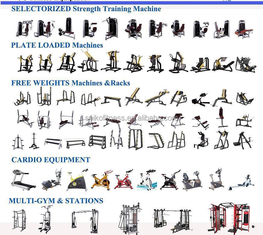 Free Weights Strength Training: 2016 Top Quality Sports Equipment Hack Squat/ Leg Press