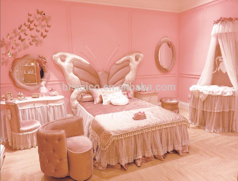 Ragazza mobili camera da letto stile farfalla letto i for Mobili camera ragazza