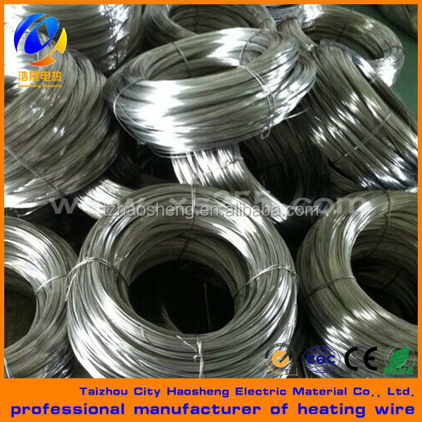Cr20Ni30 Ni Cr high temperature electric heating wire resistance wire customized