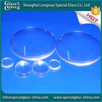 Chinese international Professioanal standard glass fitting optical tempered lens