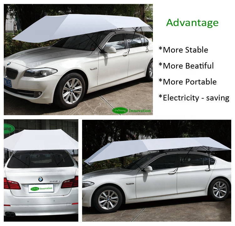 Yeeyoung Portable Magnetic Car Parking Cover