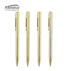 Business Writing Gift Metal Gold Pen with Logo Printed